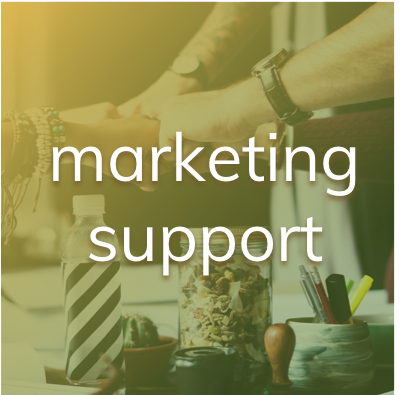 dienst marketingsupport